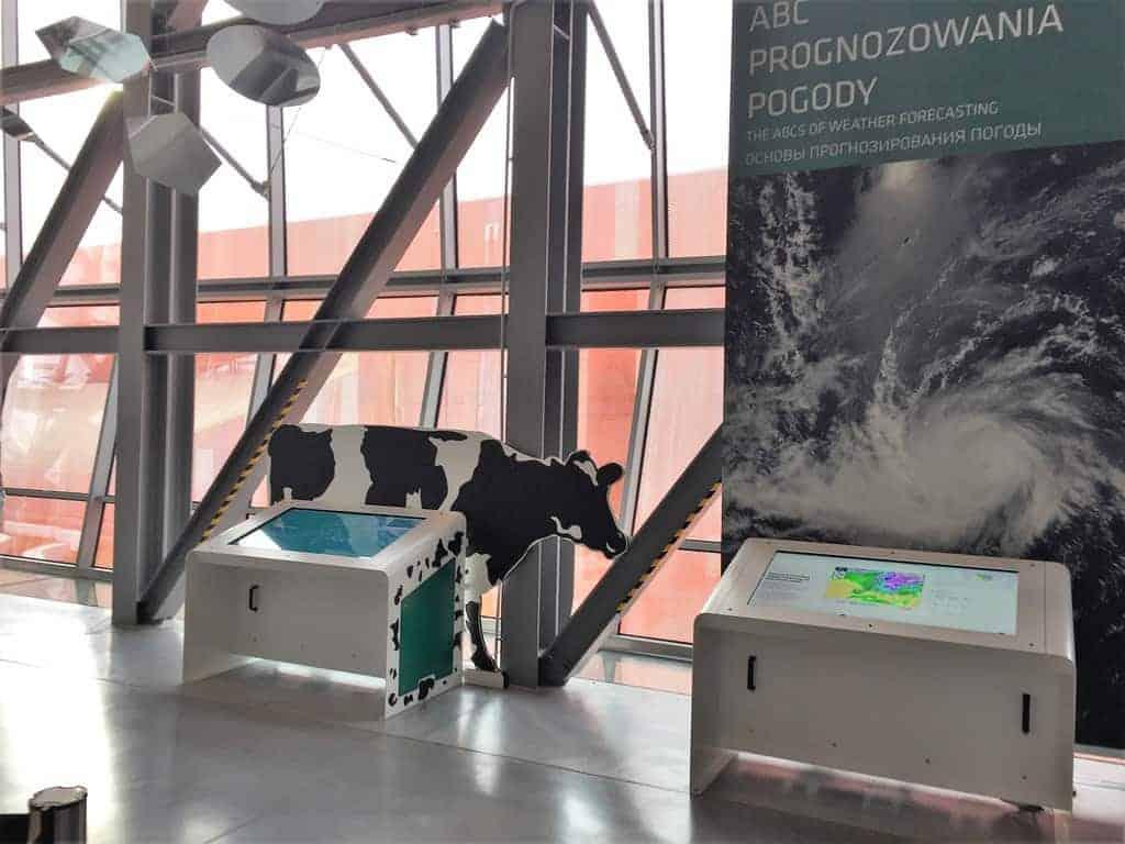 Planetarium in Warsaw, Poland, Copernicus Center