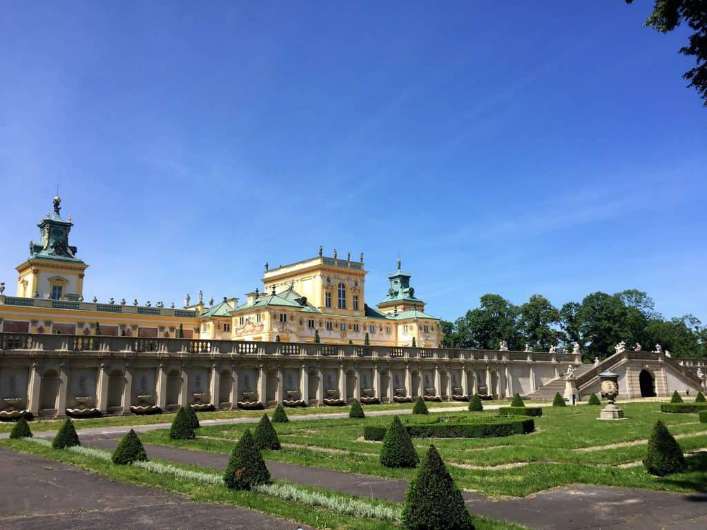 Wilanow Palace, Garden and Museum