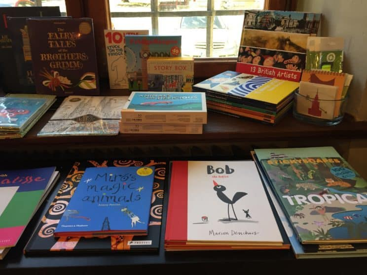 Center for Contemporary Art – Ujazdowski Castle in Warsaw: books in English for children in the museum bookstore