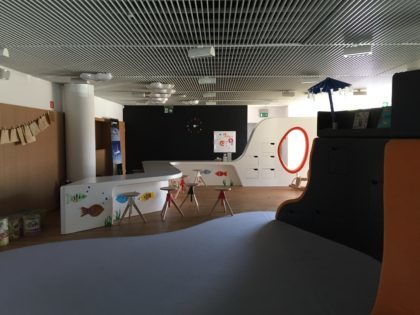 POLIN – Museum of the History of Polish Jews in Warsaw with children, play room for kids