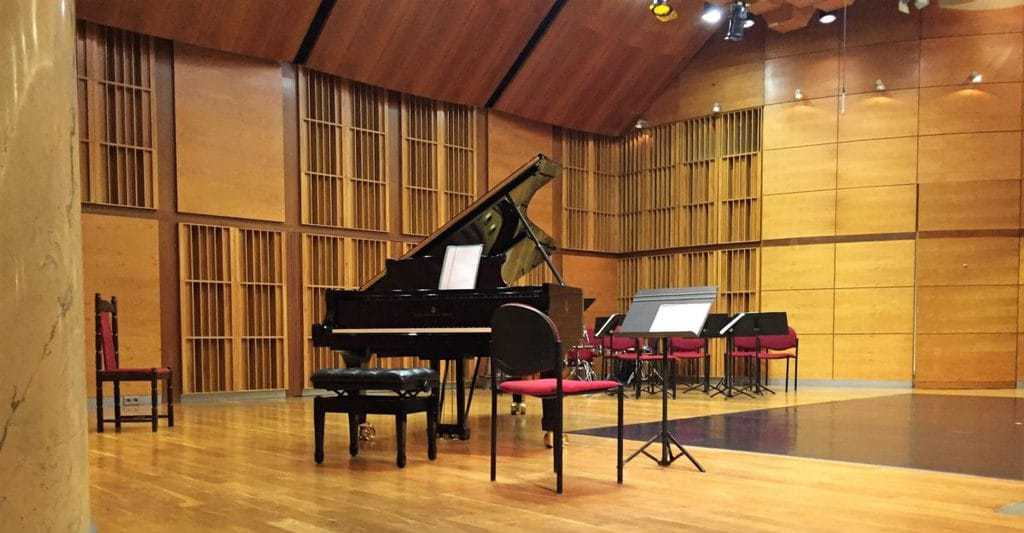 Warsaw Philharmonic – concerts for children - stage before the concert