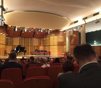 Warsaw Philharmonic – concerts for children - waiting for the show