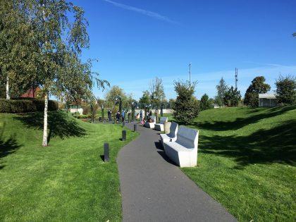Copernicus Science Centre - the park
