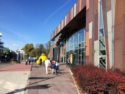 Copernicus Science Centre - entrance to the building