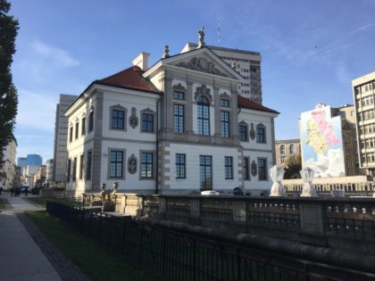 Chopin Museum in Warsaw with kids, attractions for children, building