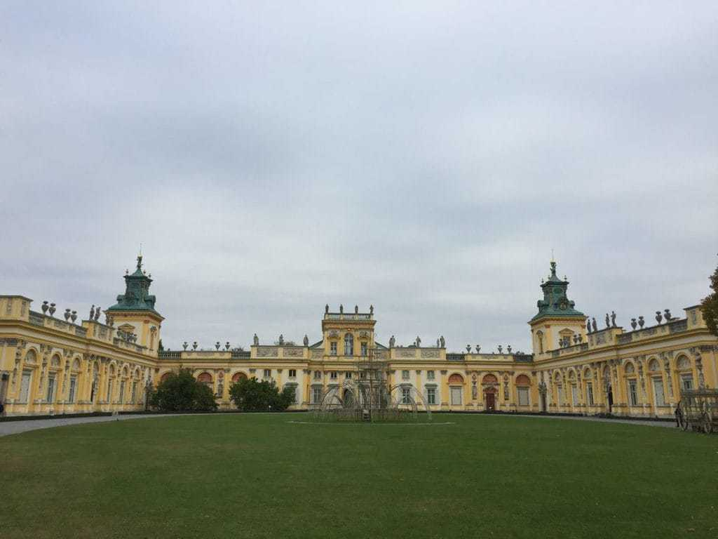 Wilanow Palace and Park in Warsaw - attractions for kids