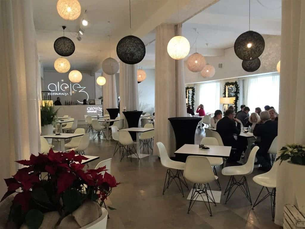 National Museum in Warsaw with kids - Aleje 3 restaurant