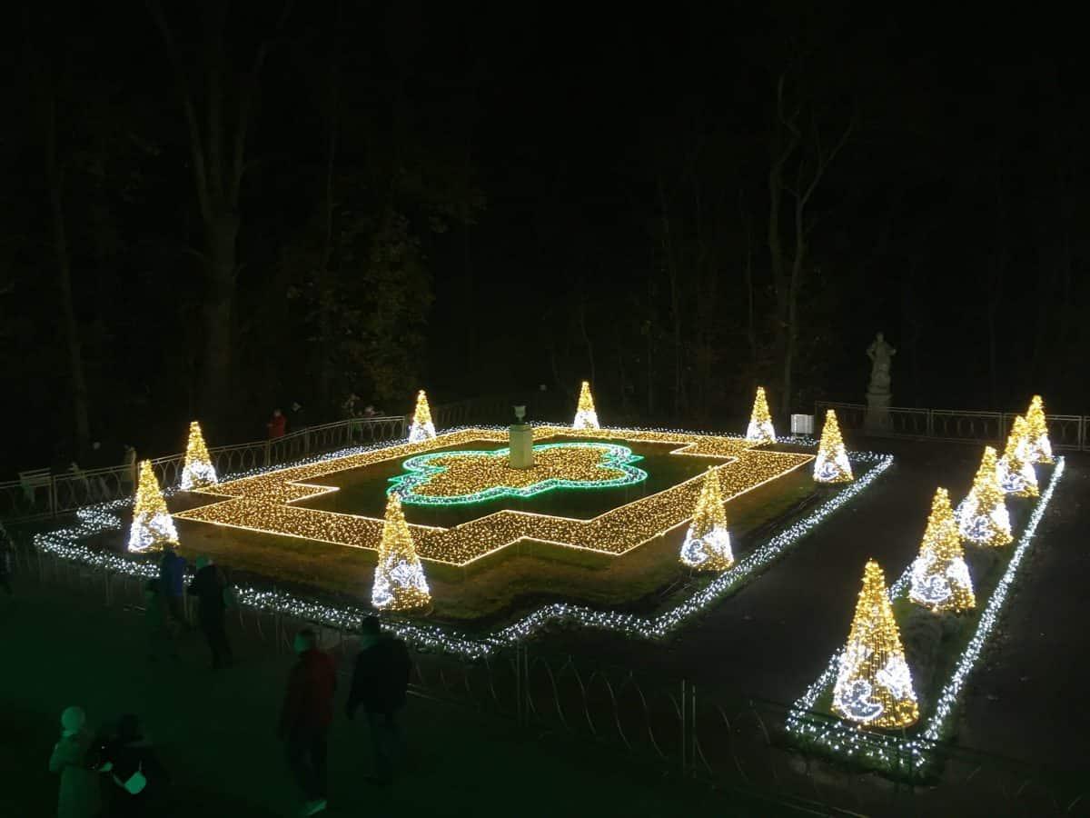 """The Royal Garden of Light"" – illuminations festival in Warsaw"