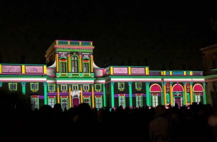 royal garden of light warsaw wilanow