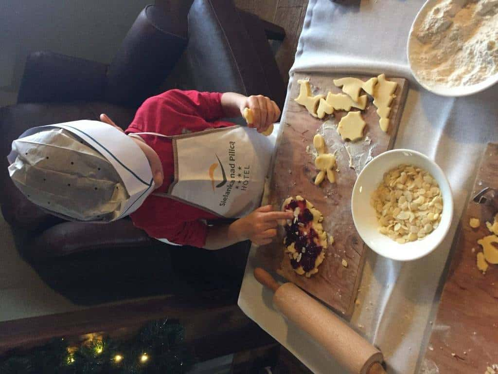 Sielanka Hotel (Hotel Sielanka nad Pilicą) with kids, attractions for children, live cooking, cooking class, cooking classes for children, little chef