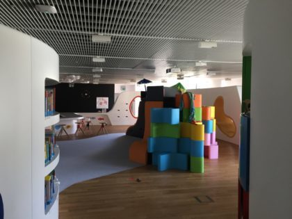 Museum of the History of Polish Jews (POLIN) - playroom called King Matt's Family Education Area
