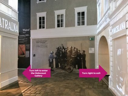 Museum of the History of Polish Jews (POLIN) - how to skip the Holocaust Gallery