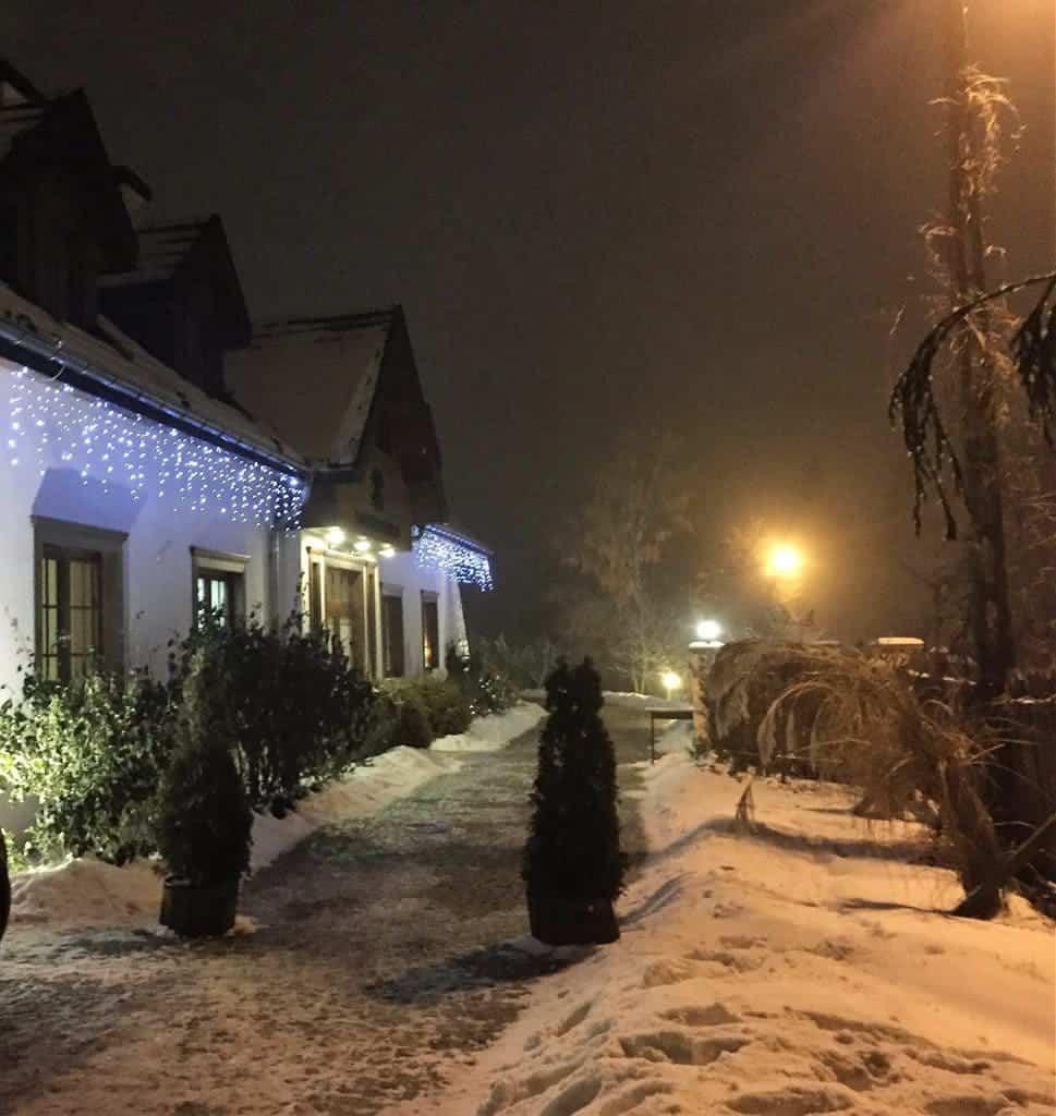 Kazimierzowka Hotel in Kazimierz Dolny - atractions for kids - by night