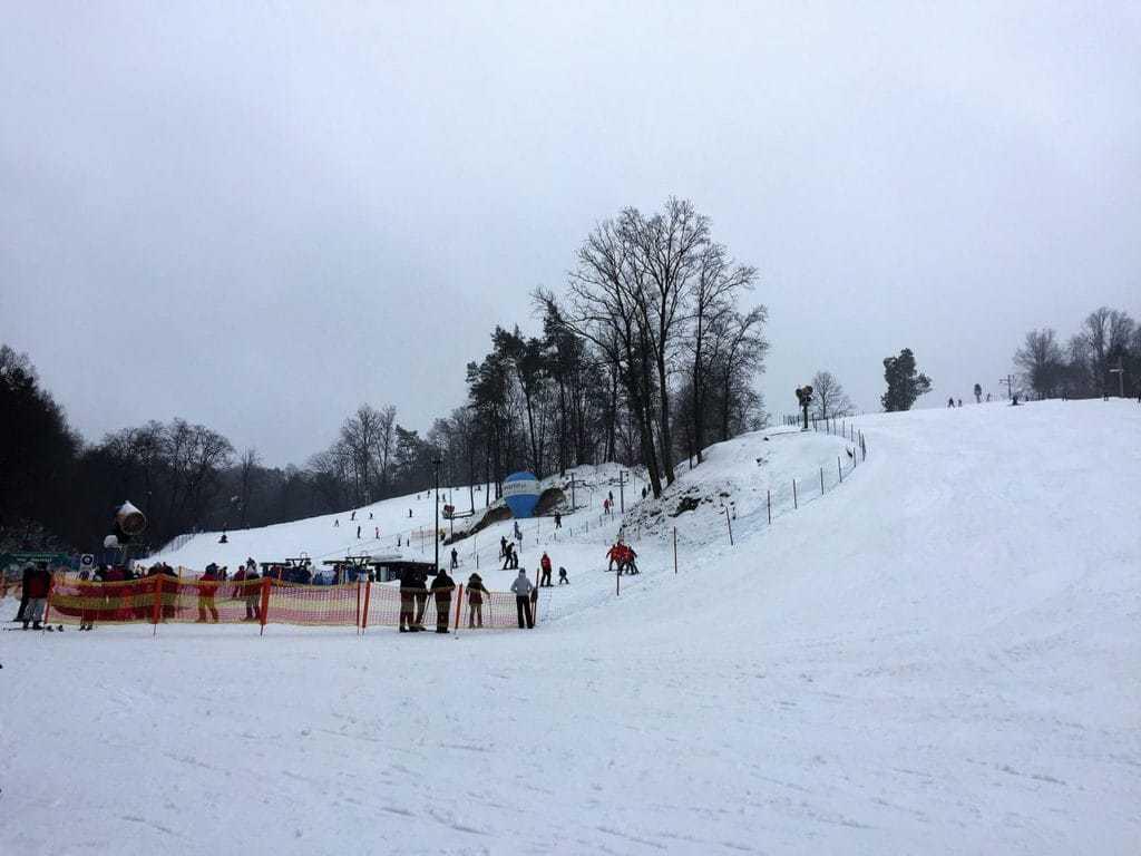 Kazimierz Dolny with kids - ski station