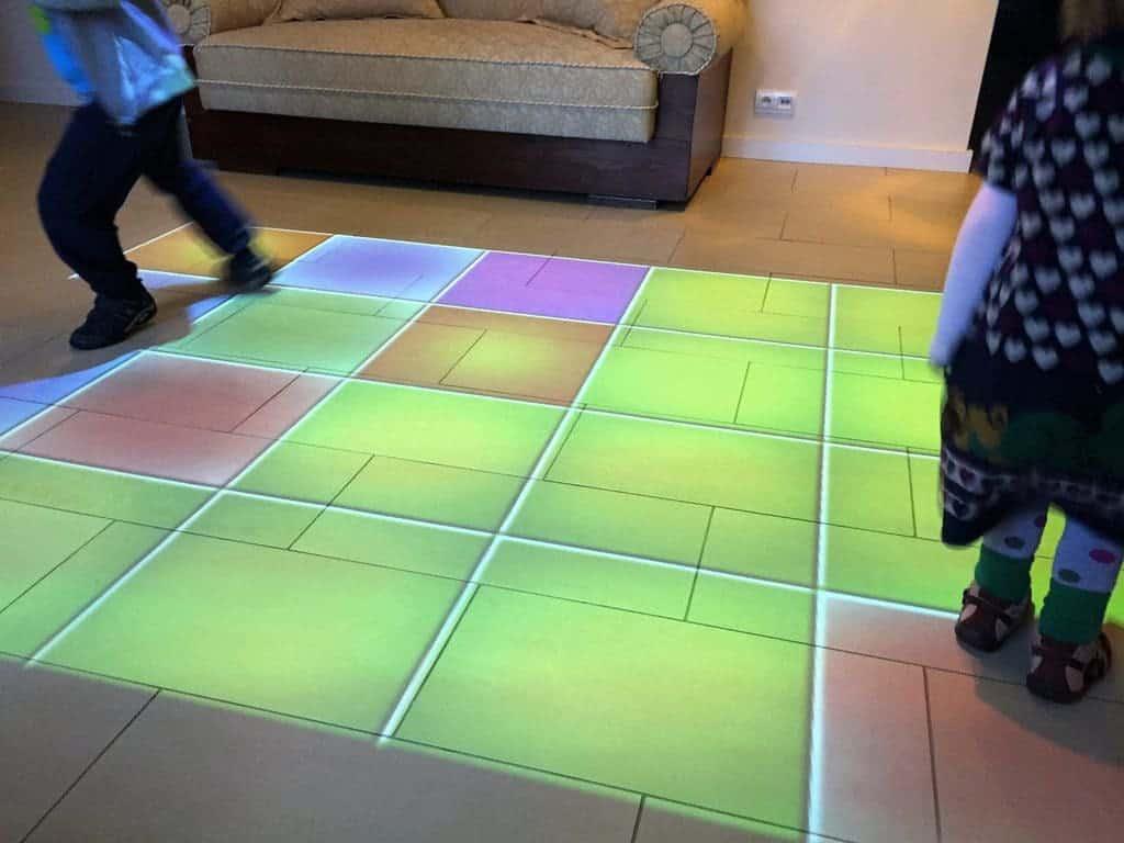 Kazimierzowka Hotel in Kazimierz Dolny - atractions for kids - interactive floor