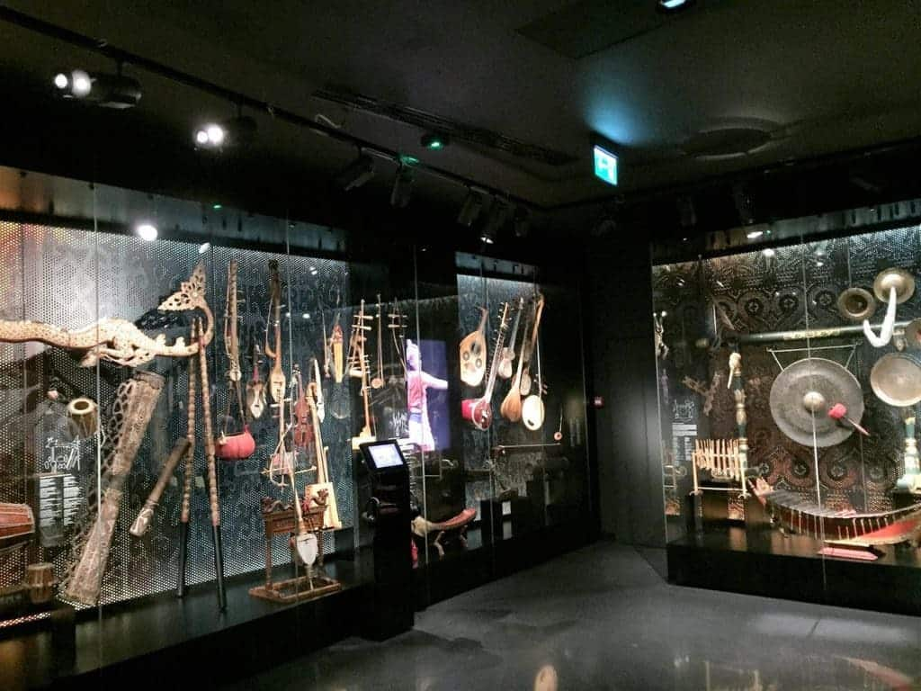 "Museum of Asia and the Pacific in Warsaw - ""Zone of Sounds"" exhibition"