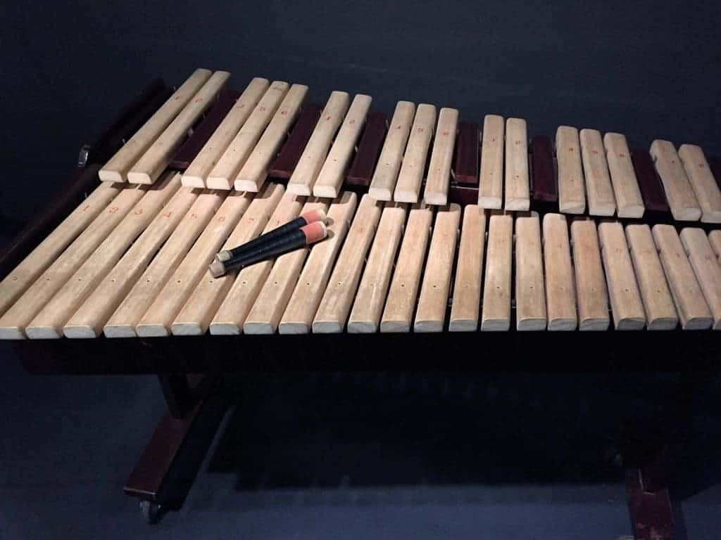 "Museum of Asia and the Pacific in Warsaw - ""Zone of Sounds"" exhibition - you can play on this instrument"