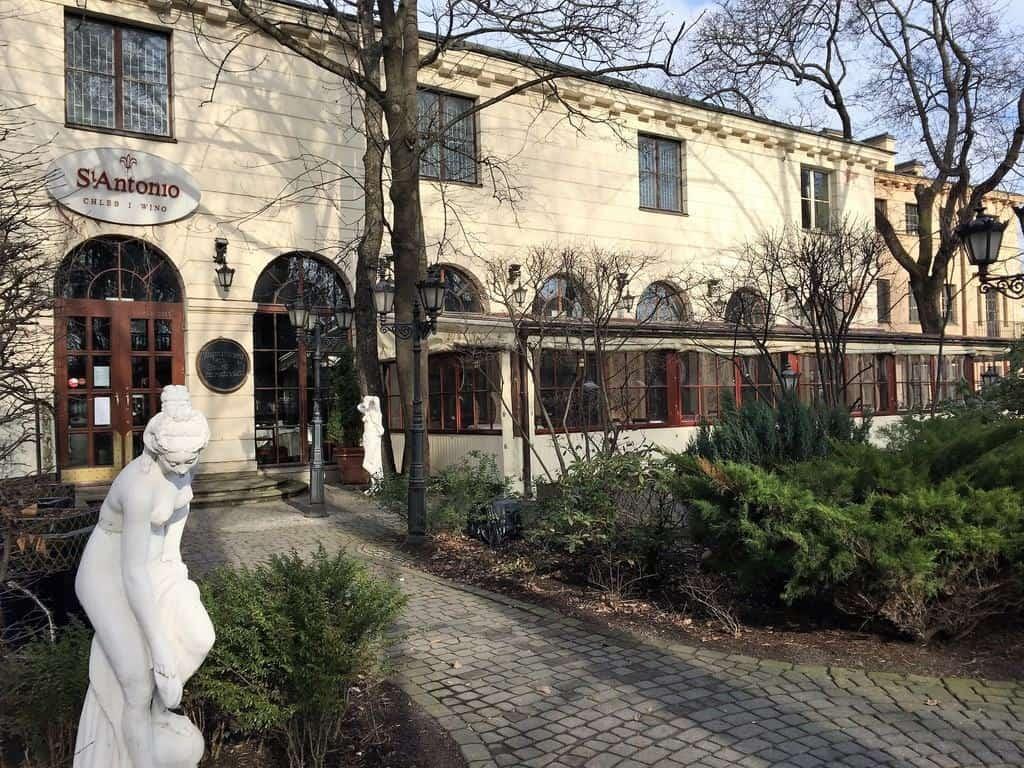 Saxon Garden, Warsaw, Ogrod Saski, restauracja, st. antonio, restaurant