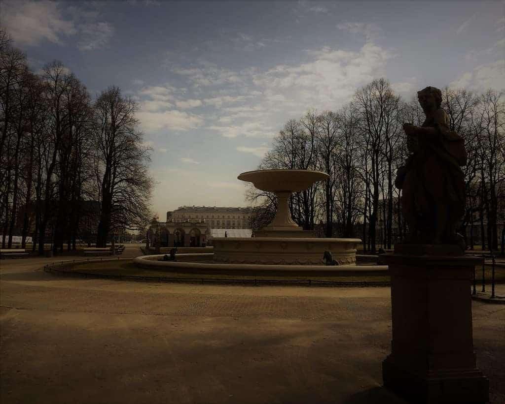 Saxon Garden in Warsaw, Ogrod Saski