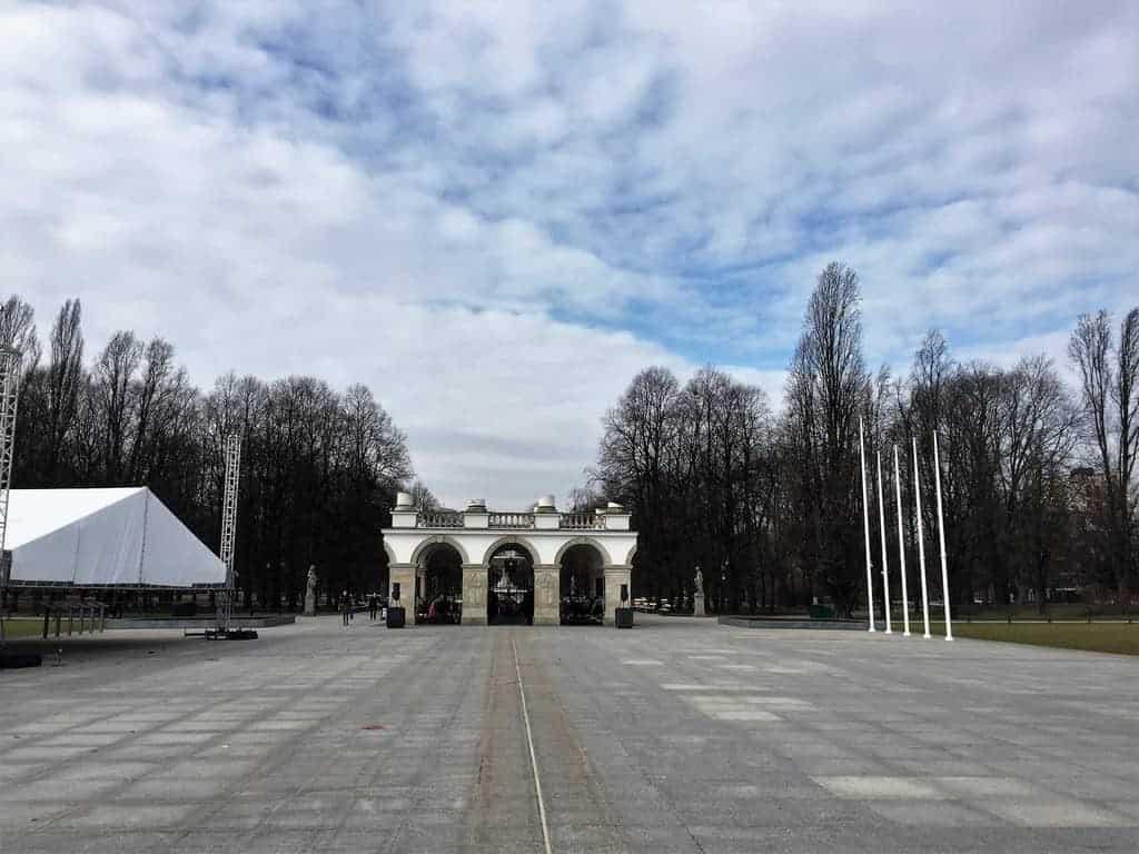 Saxon Garden in Warsaw, Ogrod Saski, unknown soldier tomb, tomb of the unknown soldier, grob nieznanego zolnierza