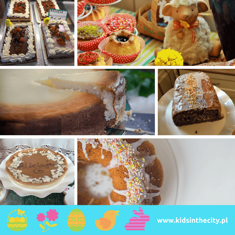 Easter traditions in Poland, Easter in poland, polish easter traditions, easter cakes, mazurek, baba, babka