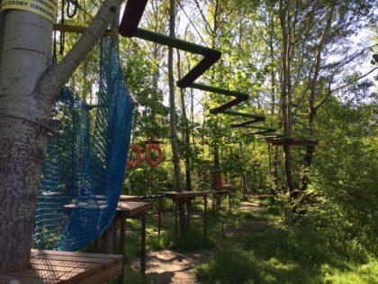 ropes course warsaw kabaty ursynow park przy bazantarni playground