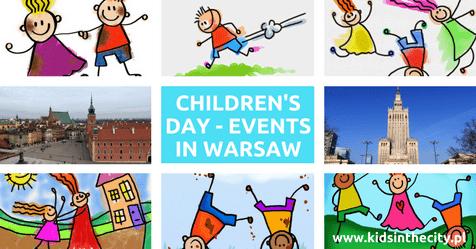 Children's Day in Warsaw, events in warsaw children's day