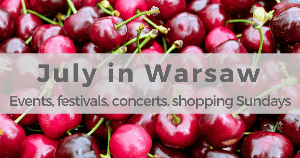 Events and things to do in Warsaw in July