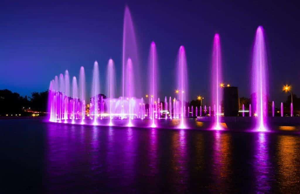 Multimedia Fountain Park