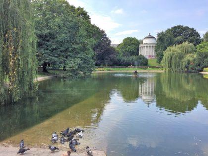 Saxon Garden Warsaw Poland