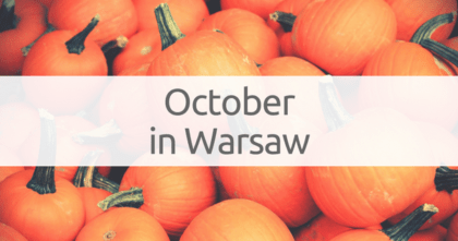 October in Warsaw