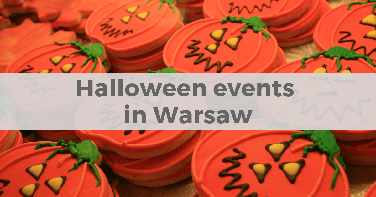 Halloween events for children in Warsaw Poland