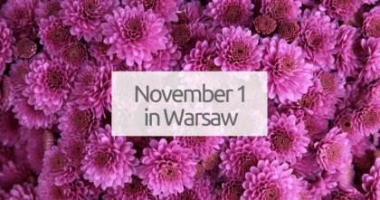 November 1 in Warsaw