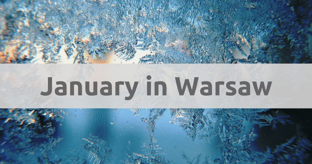 January in Warsaw, Poland