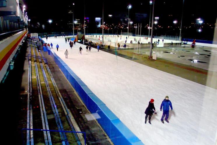 ice skating rink warsaw stegny