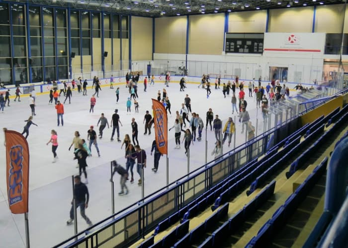 Torwar ice skating rink warsaw poland