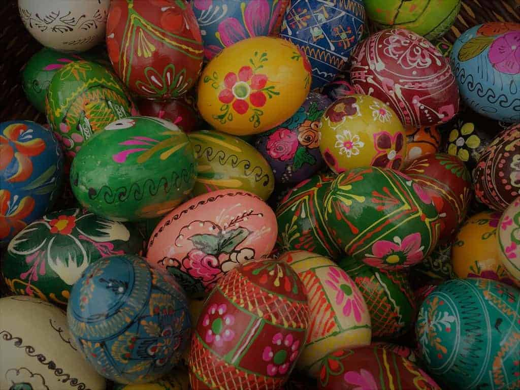 Easter in Warsaw Poland