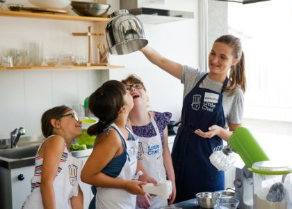 Cooking classes for children Warsaw Poland