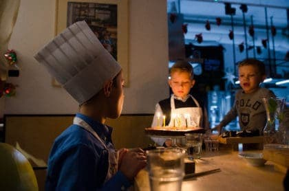 Little Chef birthday parties in Warsaw, Poland
