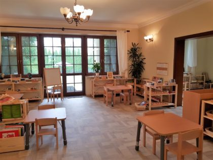Montessori Stepping Stones Kindergarten Warsaw Poland