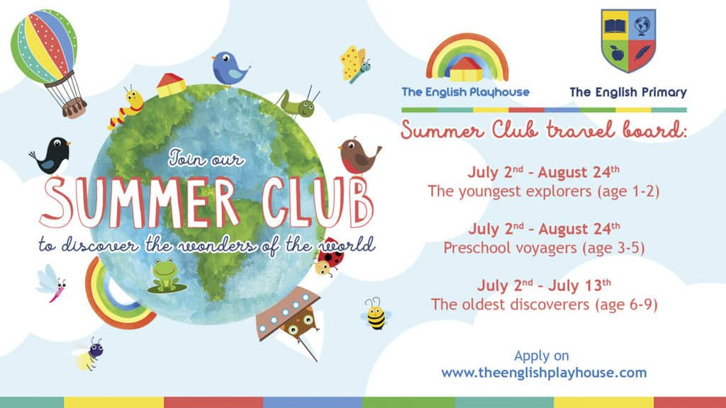 Summer Club with the English Playhouse