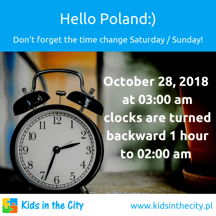 Time change in Poland