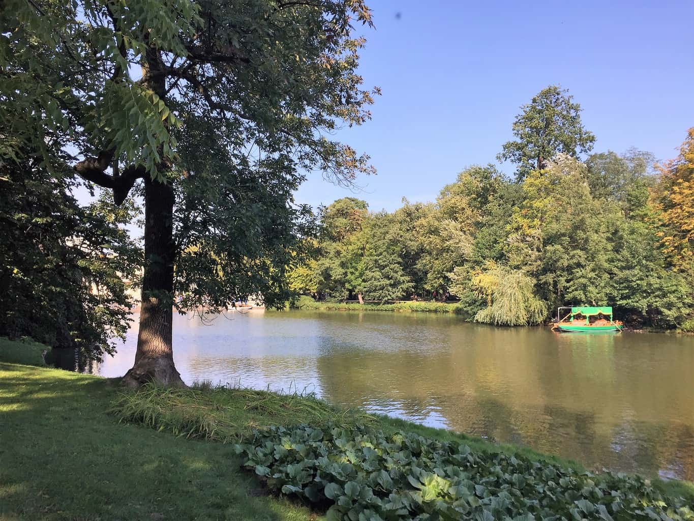 Lazienki Royal Garden