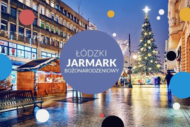 Christmas market in Lodz, Poland