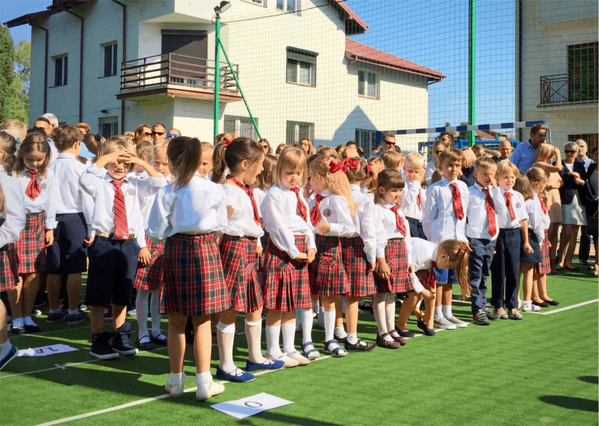 Primary School in Warsaw Poland