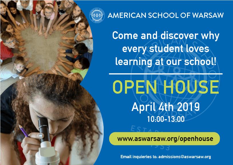 American School of Warsaw Open House