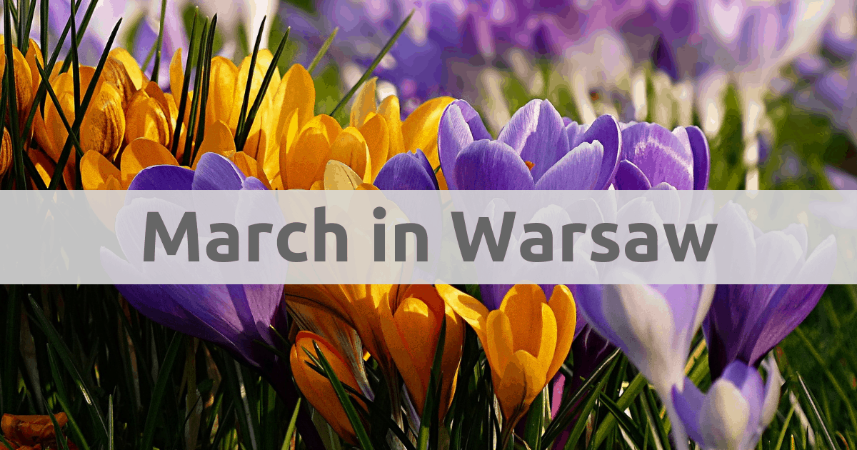 Things to do in Warsaw in spring