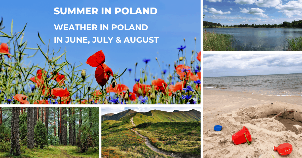 ummer in Poland: weather in Poland in June, July & August