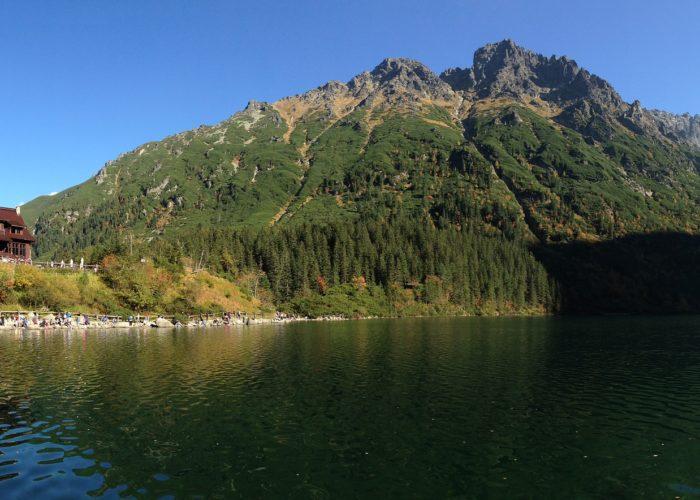 Morskie Oko Lake Tatra Mountains Poland