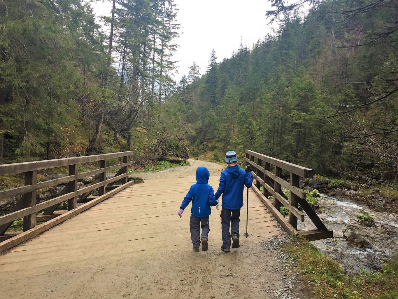 Hiking with children in Poland